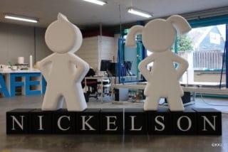 Piepschuim logo Nickelson
