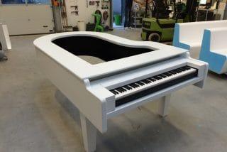 Lichtgewicht kunststof pianobar